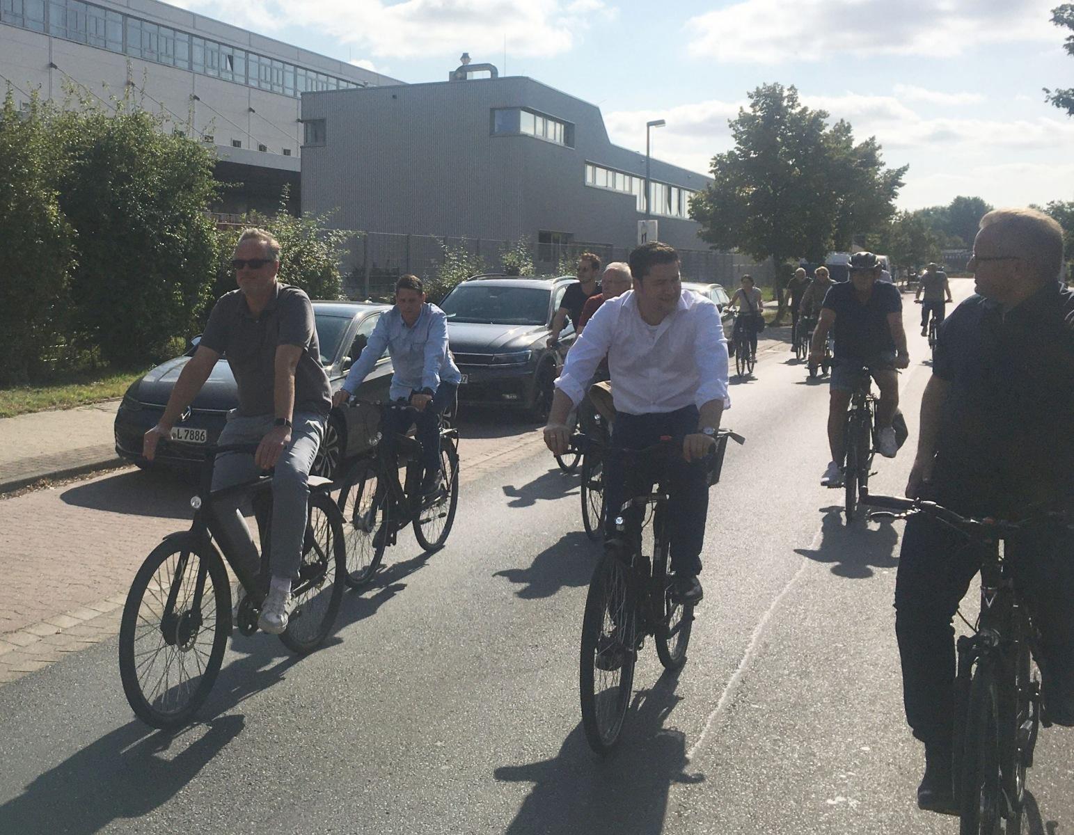 Radtour mit Thorsten Kornblum